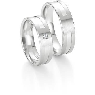 Кольцо Breuning из белого золота 48/04133