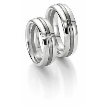 Кольцо Breuning из белого золота 48700622-0-44