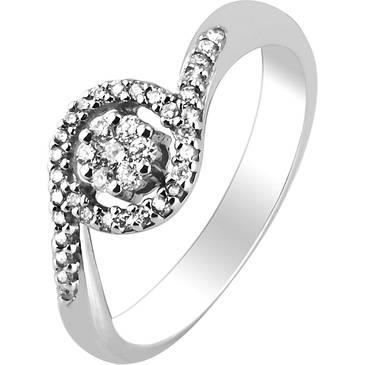 Кольцо Comete из белого золота ANB 1385