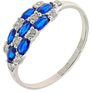 кольцо c шпинелью из белого золота 13118154
