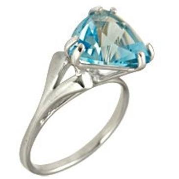 кольцо из белого золота 1076100257
