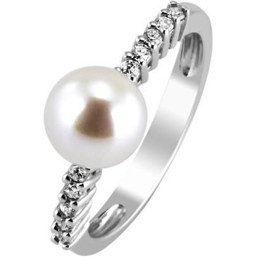 Кольцо Comete из белого золота ANP 346