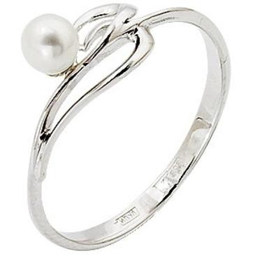 кольцо из белого золота 13601806