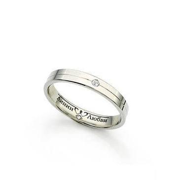 кольцо c бриллиантами из красного золота л31101100