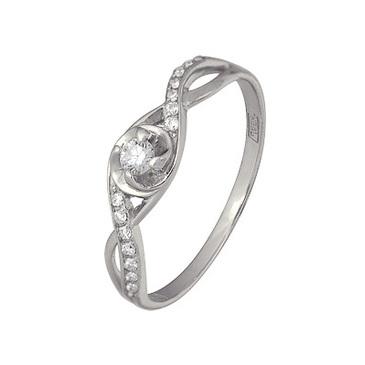 кольцо c бриллиантами из красного золота 13034493