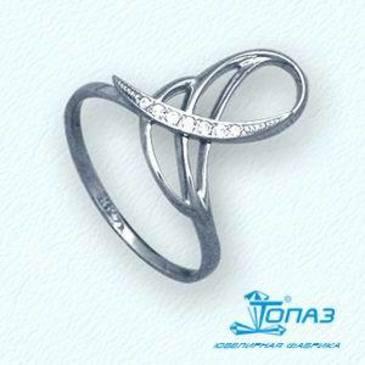 кольцо c бриллиантами из красного золота т33101846