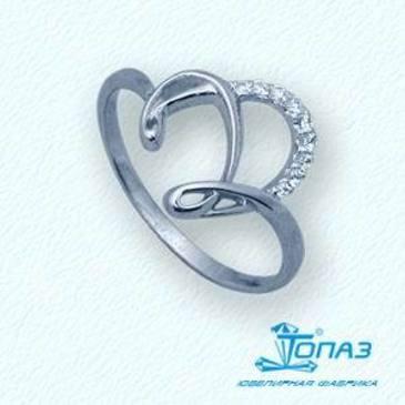 кольцо c бриллиантами из красного золота т30101780