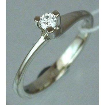 кольцо c бриллиантом из красного золота 1203468