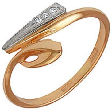 кольцо из красного золота 1203661