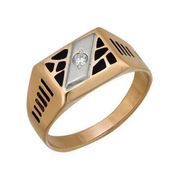 кольцо из красного золота 1646005008 от EVORA