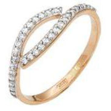 кольцо из красного золота 11026015
