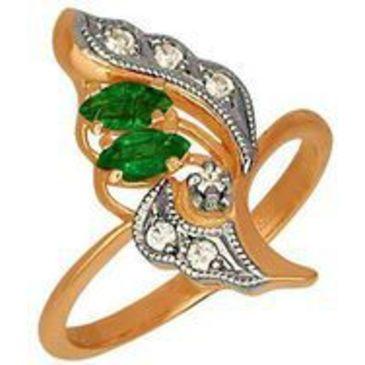 кольцо из красного золота 1243105