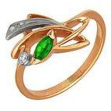 кольцо из красного золота 1243264