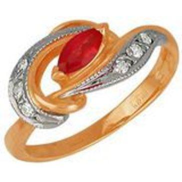 кольцо из красного золота 1223258