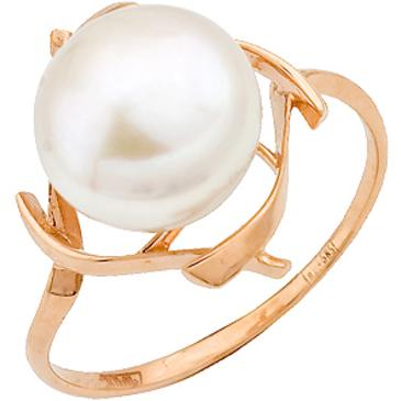 кольцо c жемчугом из красного золота 11607173