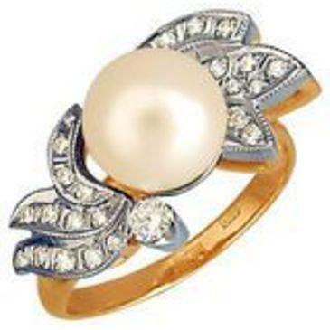 кольцо из красного золота 1263594