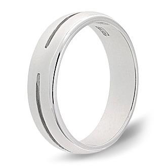 кольцо обручальное 4 мм из палладия 10007609
