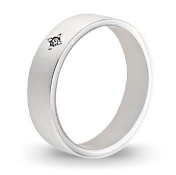 кольцо обручальное c бриллиантом из палладия 10033793.17-1