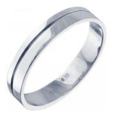 кольцо из платины 15007606