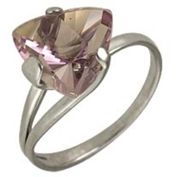 кольцо c аметистом из серебра 3067001409