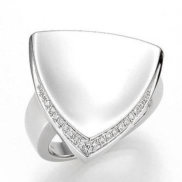 Кольцо Breuning из серебра 41/84744-S от EVORA