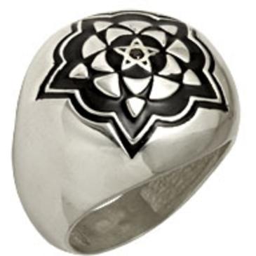кольцо c бриллиантом из серебра 3190001045 от EVORA