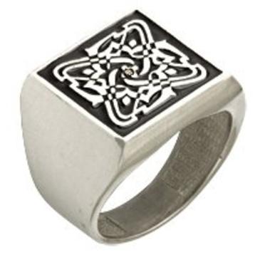 кольцо c фианитом из серебра 3640005025