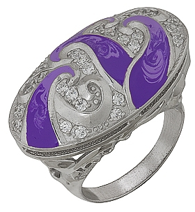 кольцо из серебра 3647002107