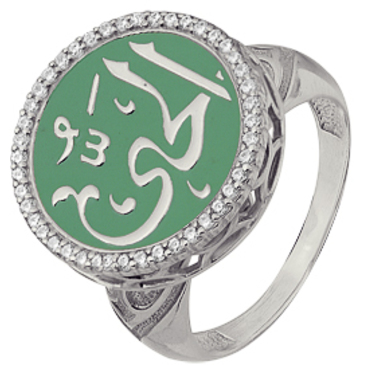 кольцо из серебра 3640002880л-2
