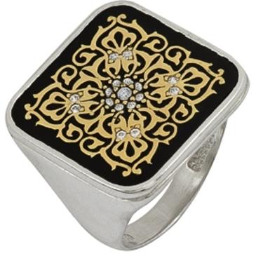 кольцо из серебра 3642002266Л