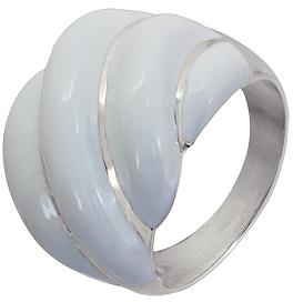 кольцо с эмалью из серебра 3620000247 от EVORA