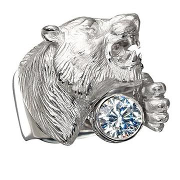 Серебряное кольцо | Мужской серебряный перстень