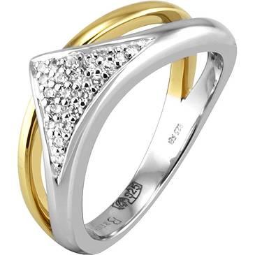 Кольцо Breuning из серебра 41/04245-3C