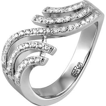 Кольцо Breuning из серебра 41/04249-3S