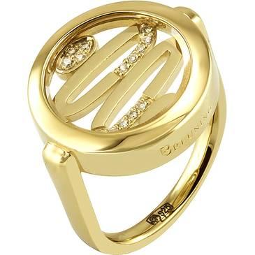 Кольцо Breuning из серебра 41/04643-3G