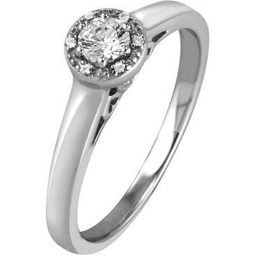 Кольцо Breuning из серебра 41/70130