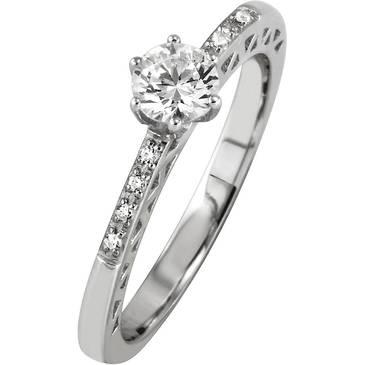 Кольцо Breuning из серебра 41/70132