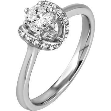 Кольцо Breuning из серебра 41/70131