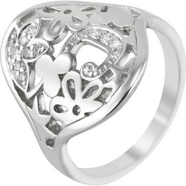 Кольцо Cacharel с цирконами из серебра csr138z