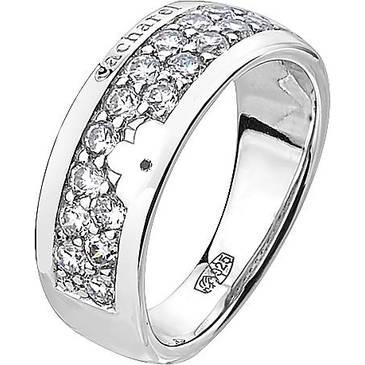 Кольцо Cacharel с цирконами из серебра CSR168Z