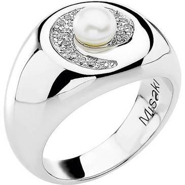 Кольцо Misaki из серебра QCURSPIRALE