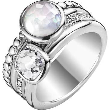 Кольцо Ti Sento из серебра 1965MW
