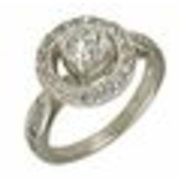 кольцо c рубином из серебра 1f2g6261 от EVORA