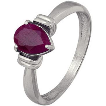 кольцо c рубином из серебра 3027003147 от EVORA