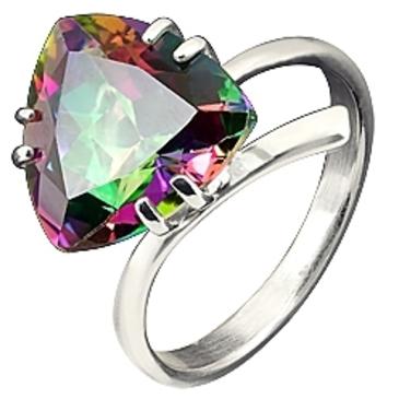 кольцо c топазом из серебра 3077001413-1 от EVORA