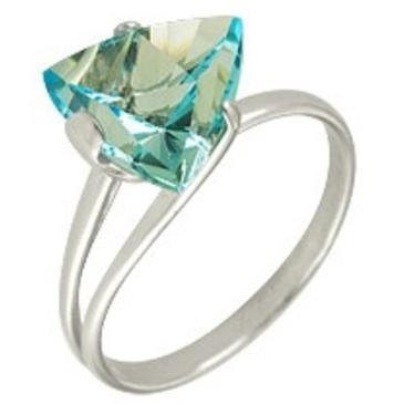 кольцо c топазом из серебра 3077001409 от EVORA