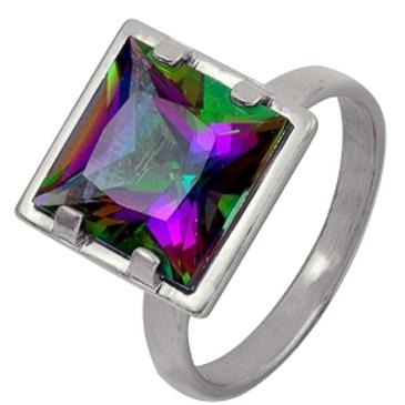 кольцо c топазом из серебра 1R801763-1 от EVORA