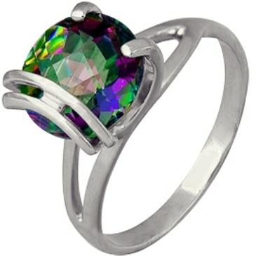 кольцо c топазом из серебра 3077001410-1 от EVORA