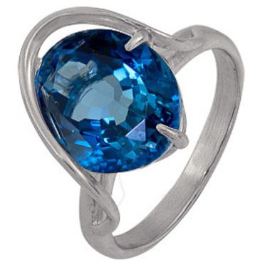 кольцо c топазом из серебра 3077002526-1 от EVORA