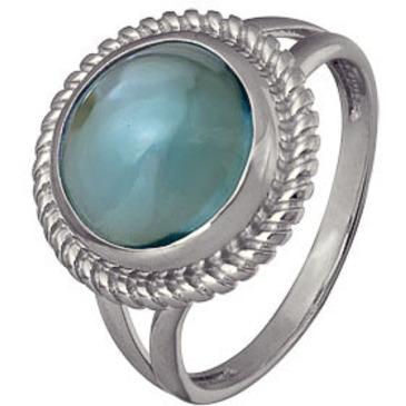 кольцо c топазом из серебра 3077003453 от EVORA